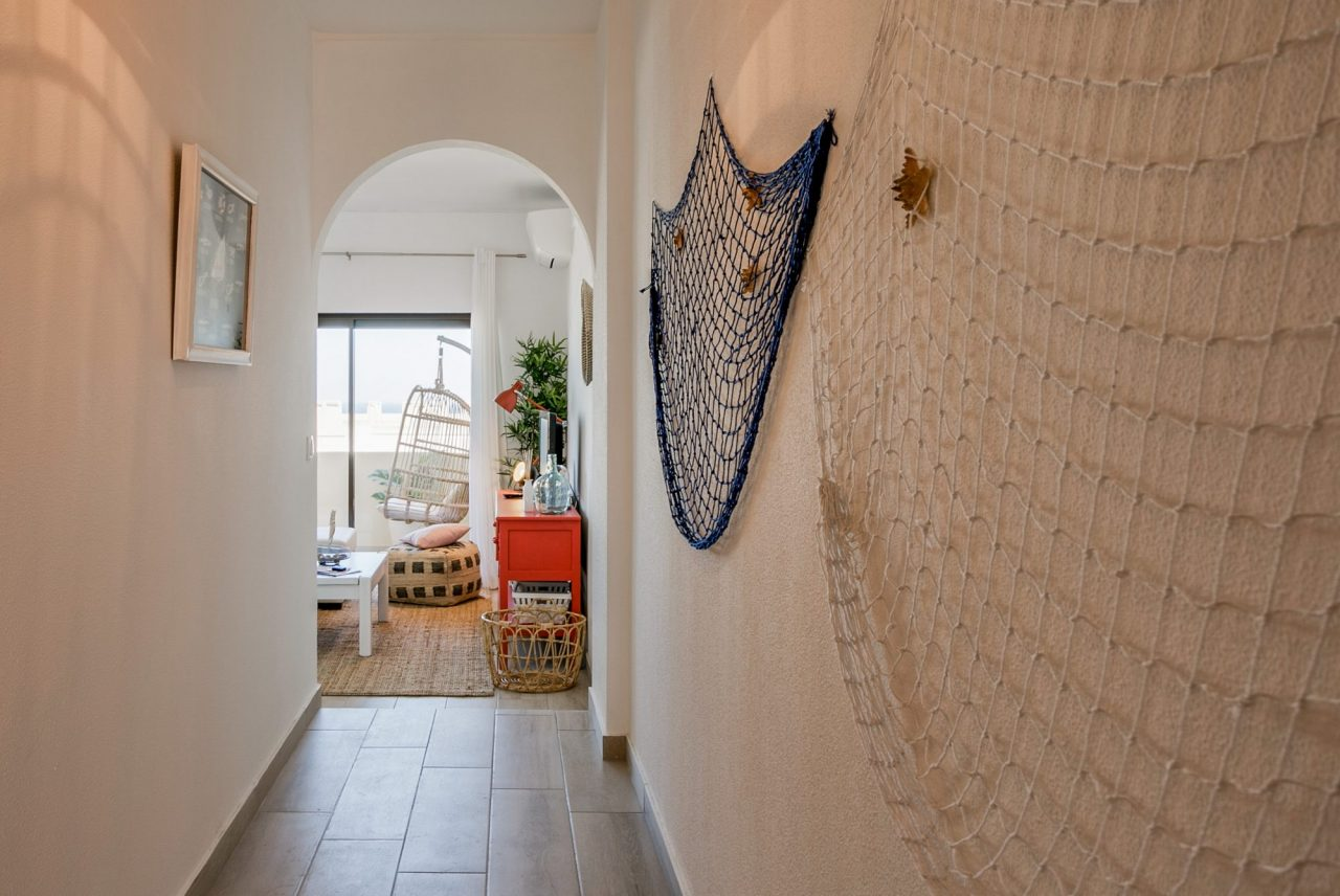 Decoração de interiores em Alojamento Local - Entrada