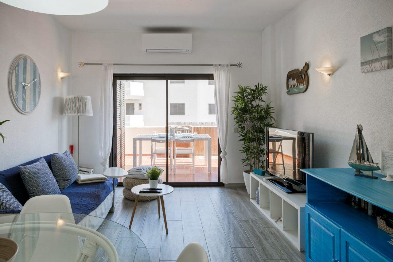 Decoração de interiores em Alojamento Local - Sala