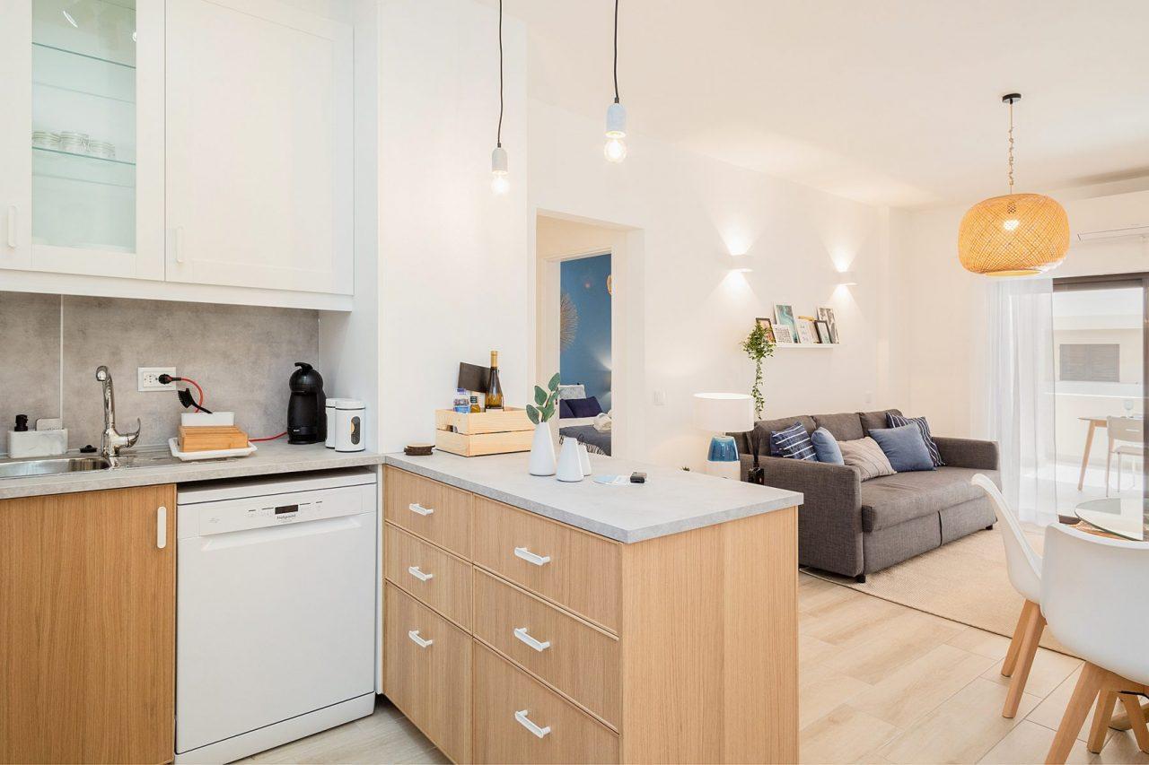 Remodelação de interiores em Alojamento Local - Cozinha