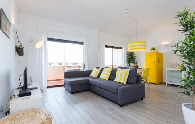 Remodelação de Interiores para Alojamento Local - Sala
