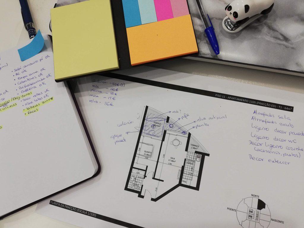 Processo de Design de Interiores para Alojamento Local