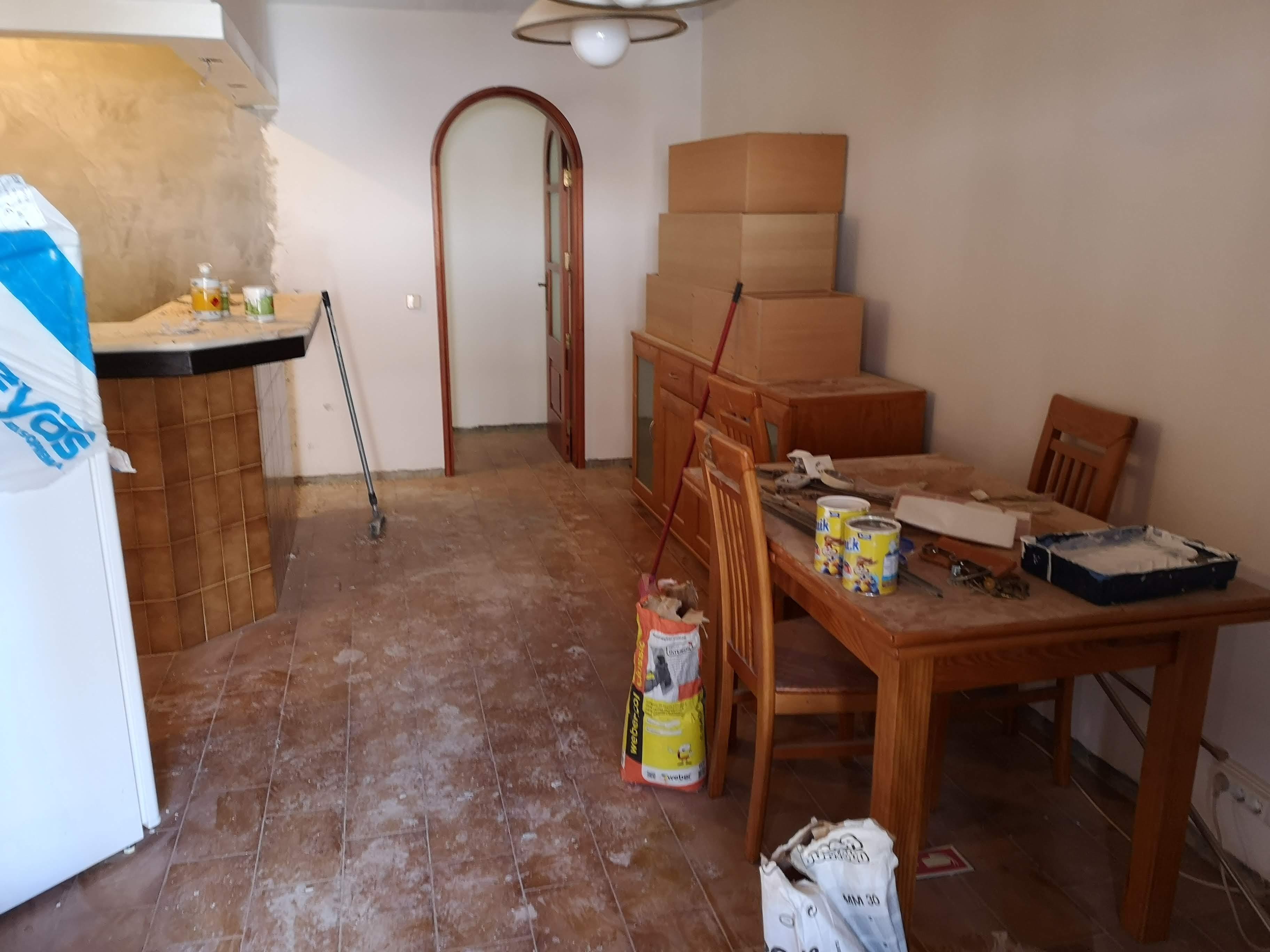 Fotografia do Antes da Remodelação - Sala de Jantar