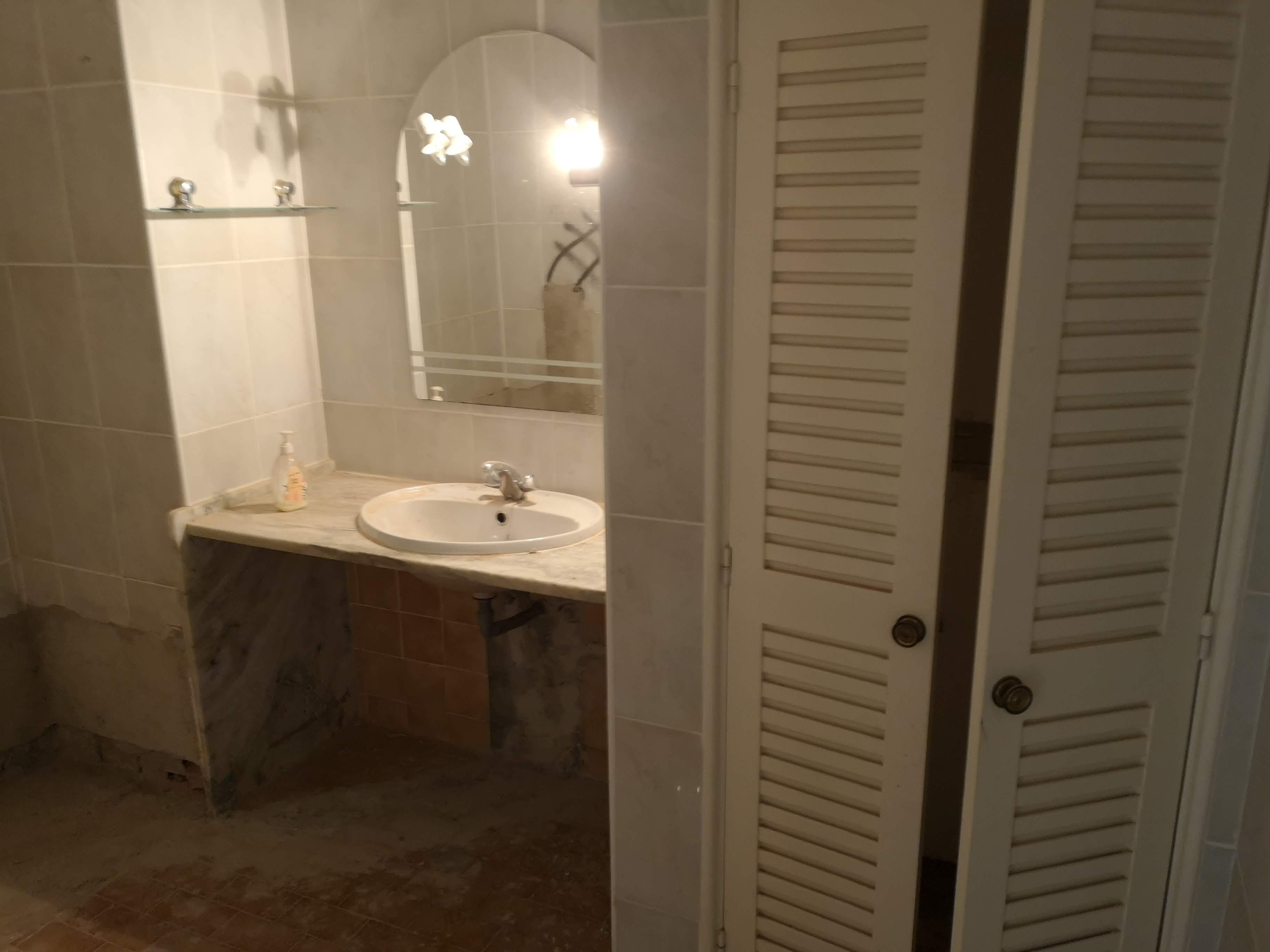 Fotografia do Antes da Remodelação - Casa de banho