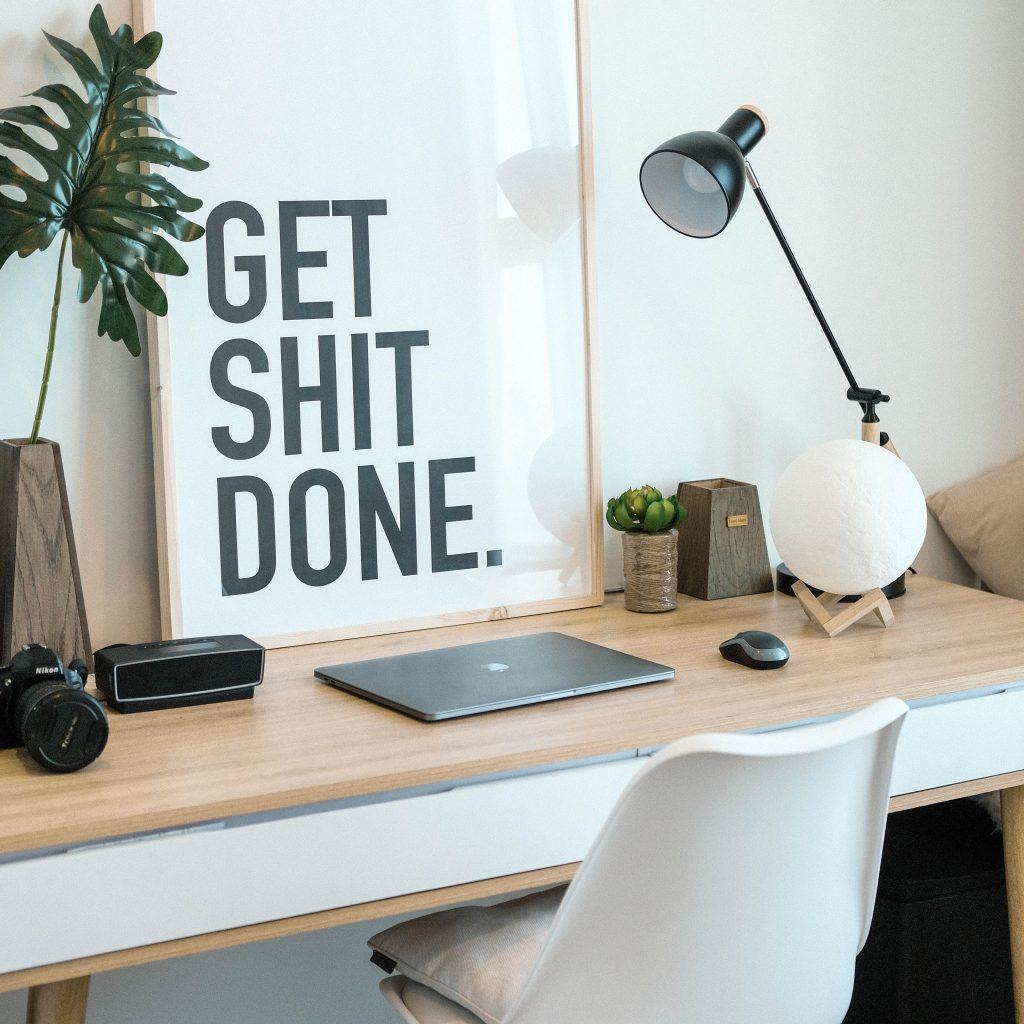 frase motivação espaço de trabalho