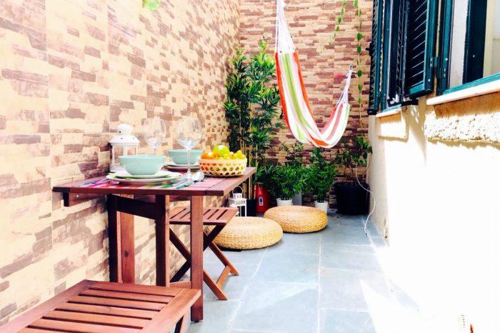 Decoração de interiores em Alojamento Local - Terraço